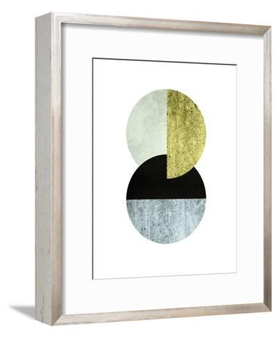 Geometric Art 17-Pop Monica-Framed Art Print