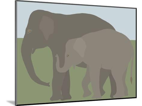 Elephant-Jorey Hurley-Mounted Art Print