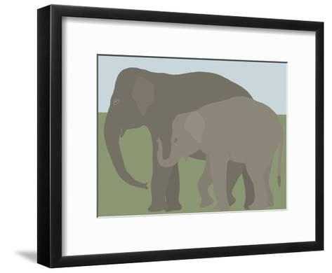 Elephant-Jorey Hurley-Framed Art Print