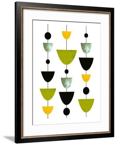 Geometric Art 31-Pop Monica-Framed Art Print