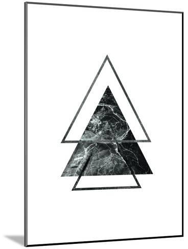 Geometric Art 55-Pop Monica-Mounted Art Print