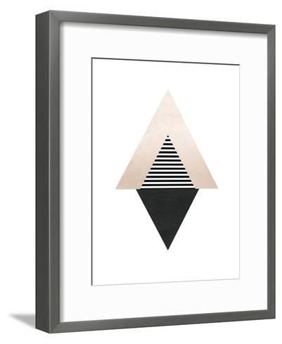 Geometric Art 56-Pop Monica-Framed Art Print