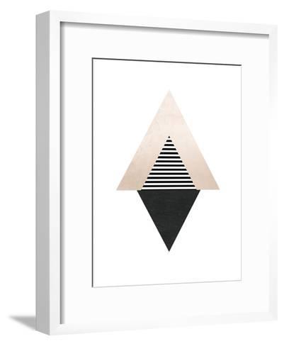 Geometric Art 56-Pop Monica-Framed Art Print