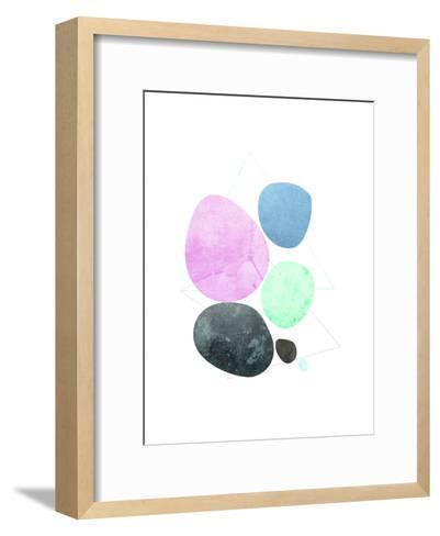 Geometric Art 34-Pop Monica-Framed Art Print