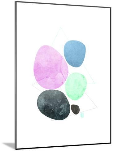 Geometric Art 34-Pop Monica-Mounted Art Print