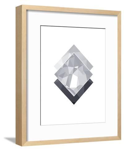 Geometric Art 45-Pop Monica-Framed Art Print
