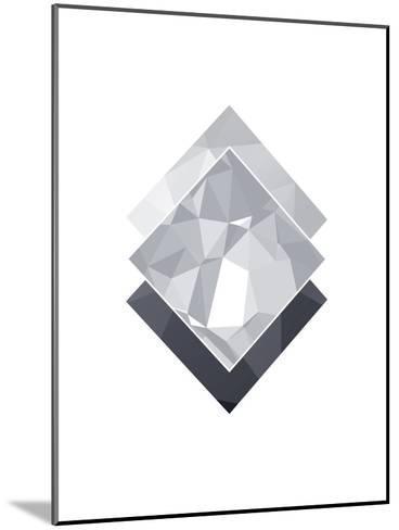 Geometric Art 45-Pop Monica-Mounted Art Print