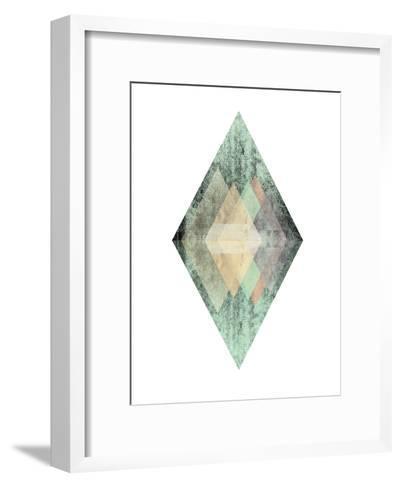 Geometric Art 6-Pop Monica-Framed Art Print