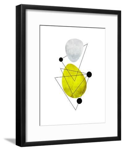 Geometric Art 36-Pop Monica-Framed Art Print