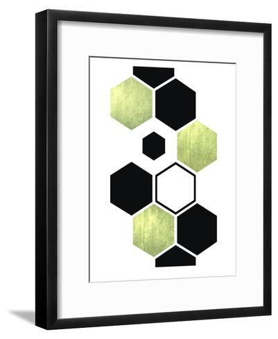 Geometric Art 25-Pop Monica-Framed Art Print