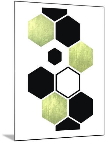 Geometric Art 25-Pop Monica-Mounted Art Print