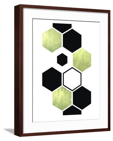 Geometric Art 25-Pop Monica-Framed Art Print