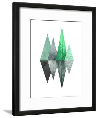 Geometric Art 8-Pop Monica-Framed Art Print