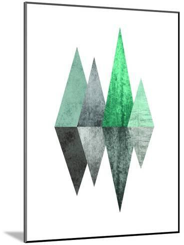 Geometric Art 8-Pop Monica-Mounted Art Print