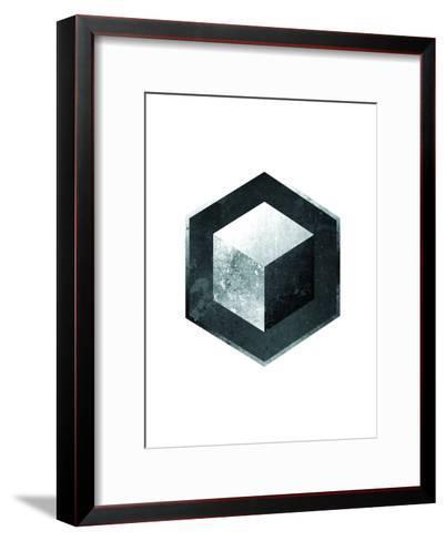 Geometric Art 26-Pop Monica-Framed Art Print