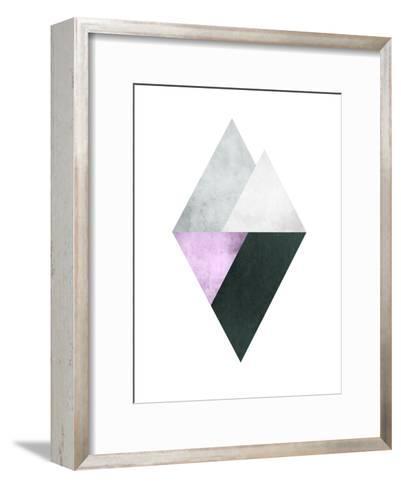Geometric Art 39-Pop Monica-Framed Art Print