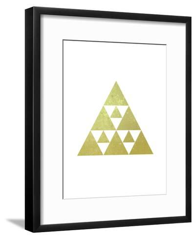 Geometric Art 51-Pop Monica-Framed Art Print