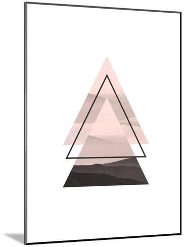 Geometric Art 52-Pop Monica-Mounted Art Print