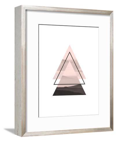 Geometric Art 52-Pop Monica-Framed Art Print