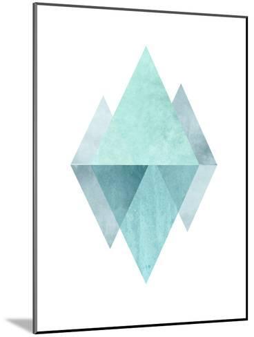 Geometric Art 42-Pop Monica-Mounted Art Print