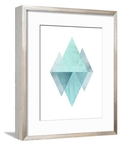 Geometric Art 42-Pop Monica-Framed Art Print