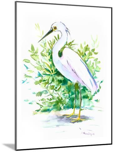Heron 6-Suren Nersisyan-Mounted Art Print