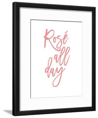 Rose All Day-Amy Brinkman-Framed Art Print