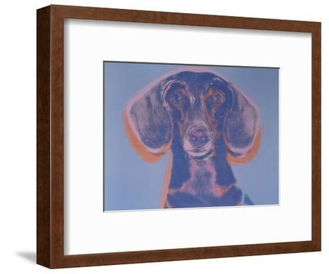 Portrait of Maurice, 1976-Andy Warhol-Framed Art Print