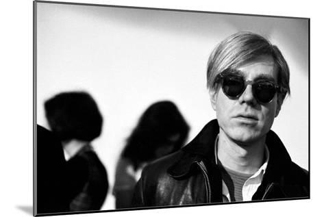 Andy Warhol, 1966 (2)-Andy Warhol/ Nat Finkelstein-Mounted Art Print