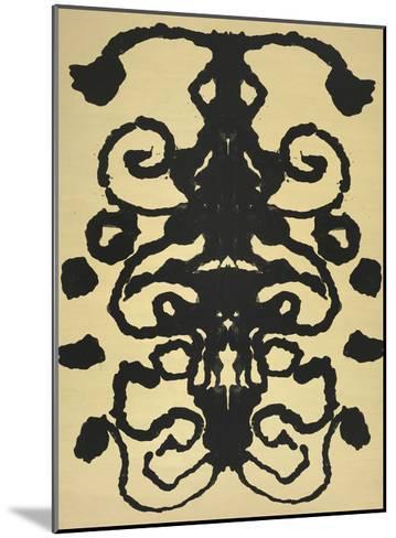 Rorschach, 1984-Andy Warhol-Mounted Art Print