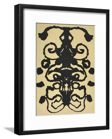 Rorschach, 1984-Andy Warhol-Framed Art Print