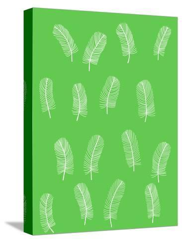 Feathers 1-Jorey Hurley-Stretched Canvas Print