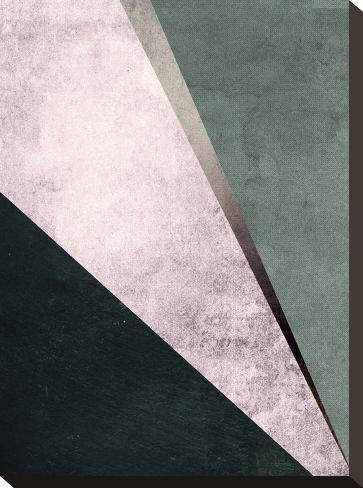 Geometric Art 1-Pop Monica-Stretched Canvas Print