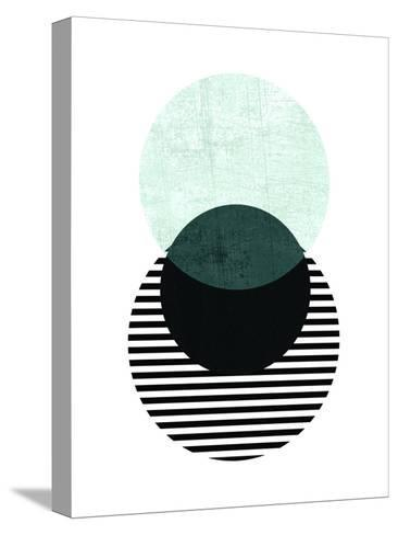Geometric Art 13-Pop Monica-Stretched Canvas Print