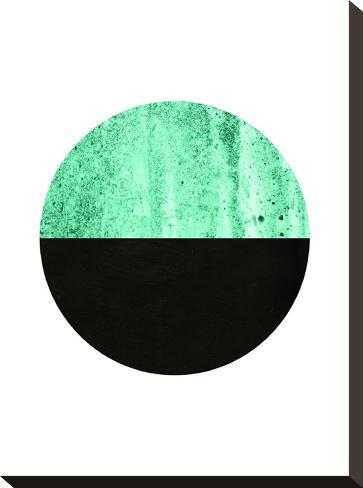 Geometric Art 14-Pop Monica-Stretched Canvas Print