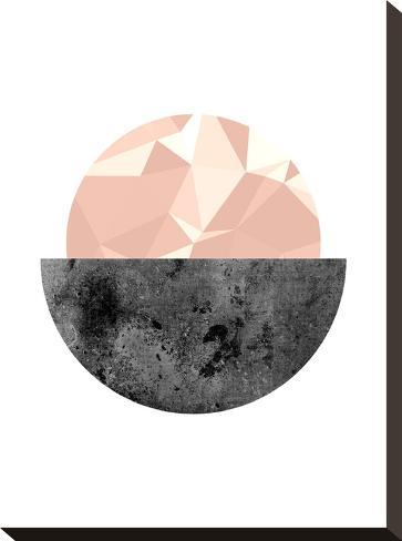 Geometric Art 16-Pop Monica-Stretched Canvas Print