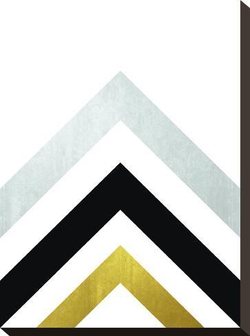 Geometric Art 20-Pop Monica-Stretched Canvas Print