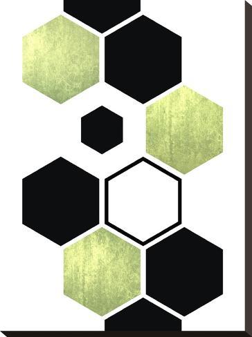 Geometric Art 25-Pop Monica-Stretched Canvas Print