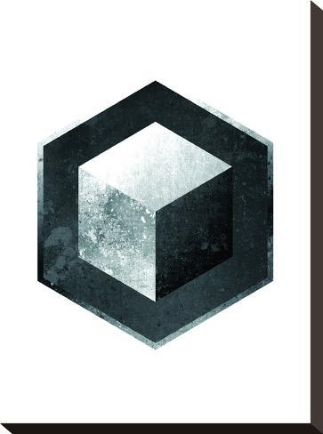 Geometric Art 26-Pop Monica-Stretched Canvas Print