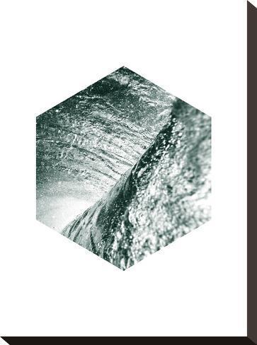 Geometric Art 27-Pop Monica-Stretched Canvas Print