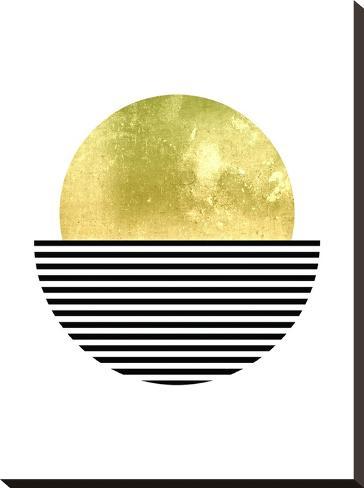 Geometric Art 3-Pop Monica-Stretched Canvas Print