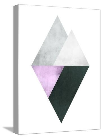 Geometric Art 39-Pop Monica-Stretched Canvas Print