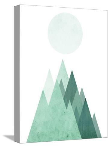 Geometric Art 43-Pop Monica-Stretched Canvas Print
