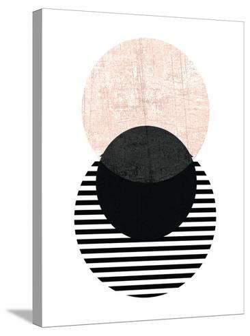 Geometric Art 5-Pop Monica-Stretched Canvas Print