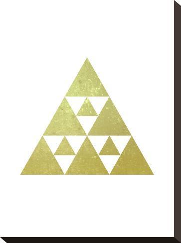 Geometric Art 51-Pop Monica-Stretched Canvas Print