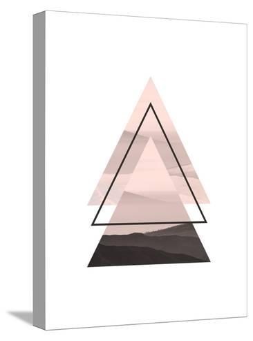 Geometric Art 52-Pop Monica-Stretched Canvas Print