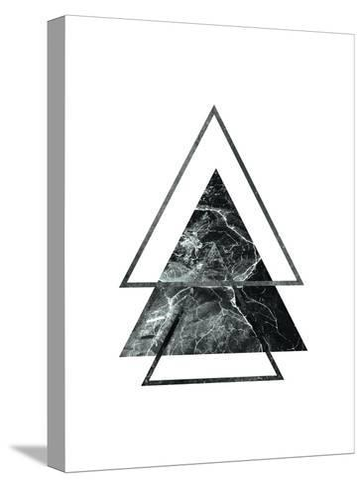 Geometric Art 55-Pop Monica-Stretched Canvas Print