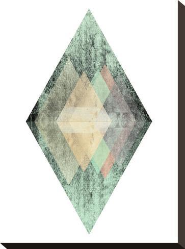 Geometric Art 6-Pop Monica-Stretched Canvas Print