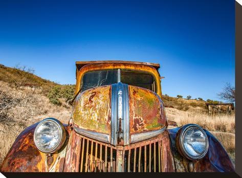 Ghost Truck #2-Murray Bolesta-Stretched Canvas Print