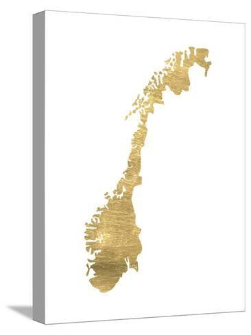 Norway-Pop Monica-Stretched Canvas Print